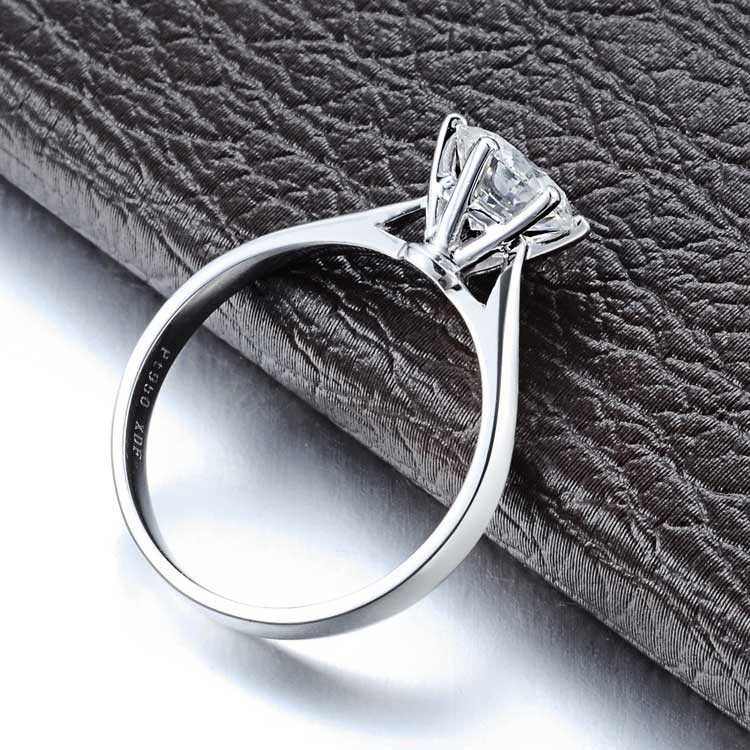 Solitaire Ring On  JeenJewels