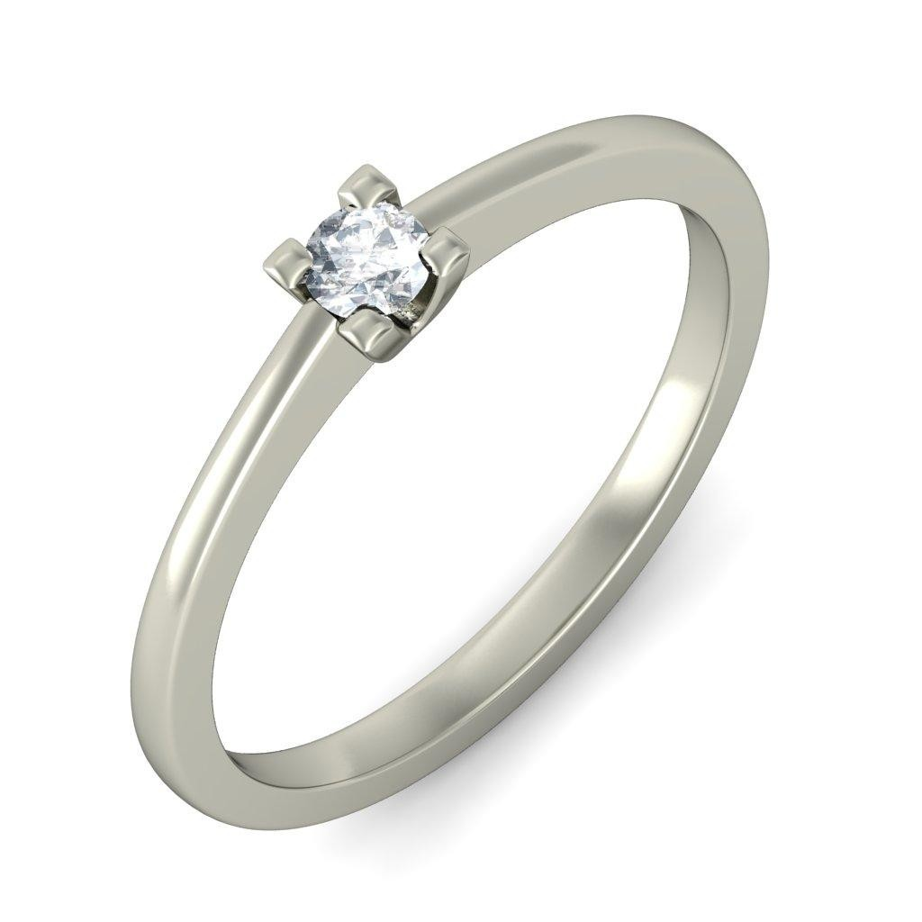 Enthralling Cheap Solitaire Wedding Ring 020 Carat Round