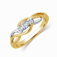 Gold Wedding Rings: Infinity Rings For Women In Yellow Gold