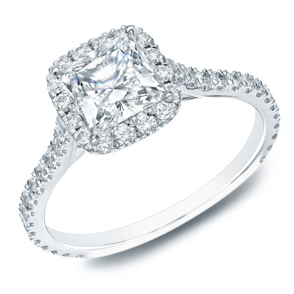 1 Carat Princess Diamond Ring