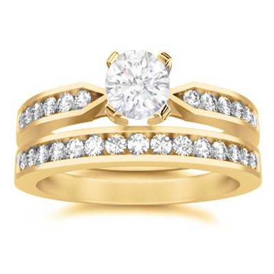 Affordable Wedding Ring Set On  JeenJewels