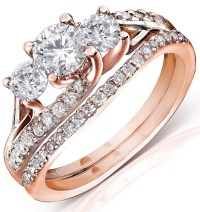 Wedding Sets: Wedding Sets Rose Gold