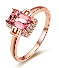 Designer 1.25 Carat Pink Sapphire and Diamond Gemstone