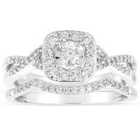 GIA Certified Infinity 1 Carat Round Diamond Wedding Ring ...