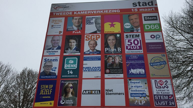 Billboard verkiezingen