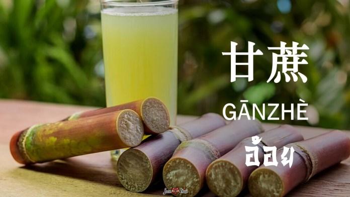คำศัพท์ผลไม้ภาษาจีน