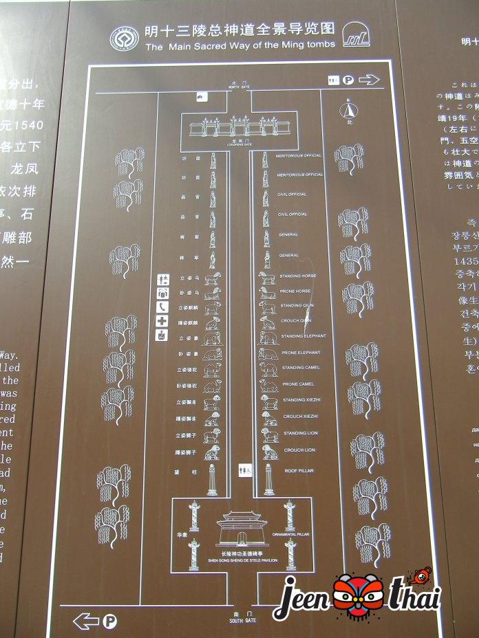 สุสาน 13 กษัตริย์ 十三陵 Ming Dynasty Tombs (Shísān líng) สืบซานหลิง