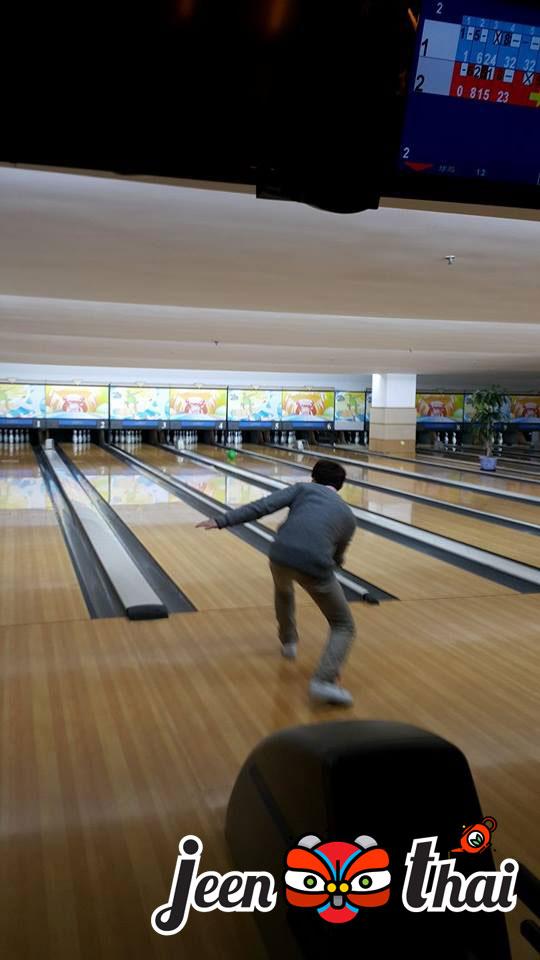 ลานโบว์ลิ่งที่เซี่ยงไฮ้ Bowling 青松城保龄球馆