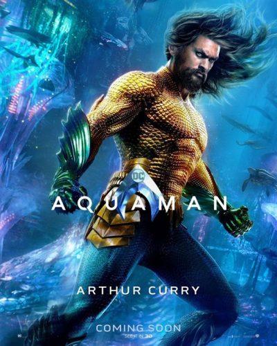 หนังเรื่อง Aquaman มาดูกันว่าชื่อตัวละครในภาษาจีนนั้น จะเป็นอย่างไรกันบ้าง