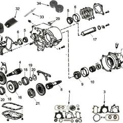 Dana 80 Rear Axle Diagram Hunter Fan Capacitor Wiring Transmission And Transfer Case Variants Types In Cj's (53-86) - Jeep-cj Forums