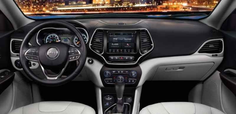 2019 Jeep Cherokee Limited Interior Refined Details