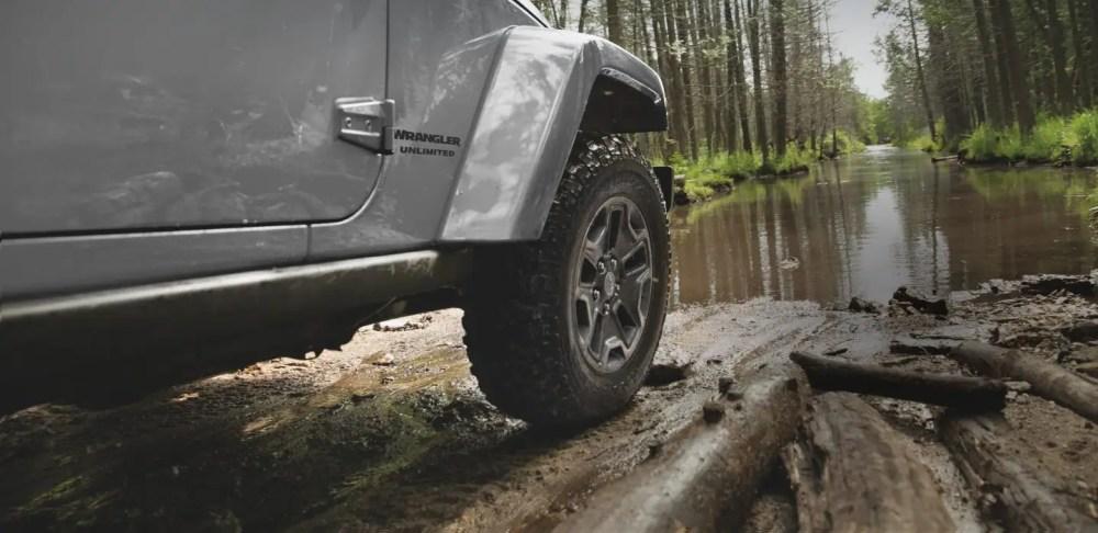 medium resolution of jeep 4x4 on mud terrain