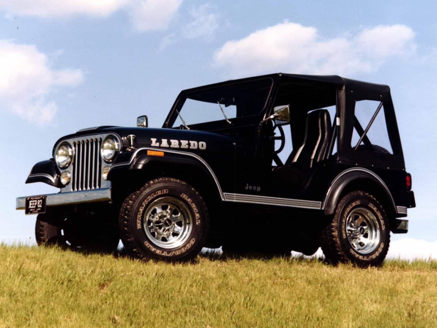 hight resolution of jeep history cj 5 laredo