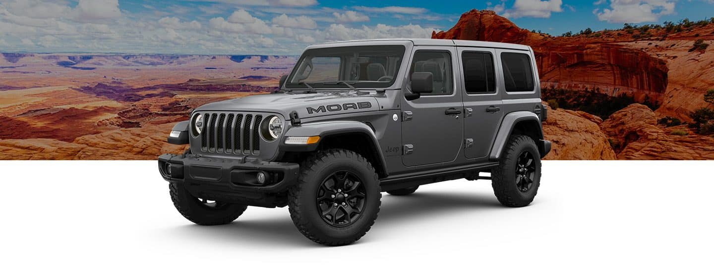 hight resolution of 2019 jeep wrangler moab overview hero granite crystal