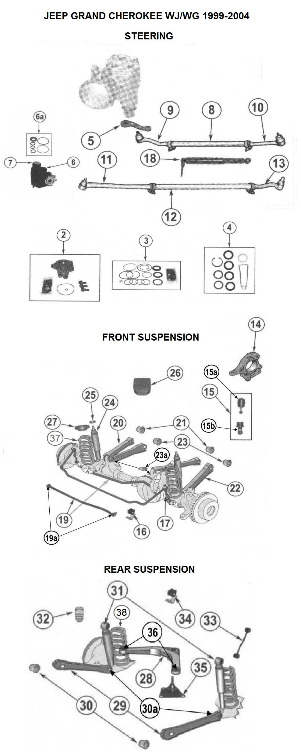 Wj Jeep Cherokee Parts Diagram Auto Wiring Used Cars