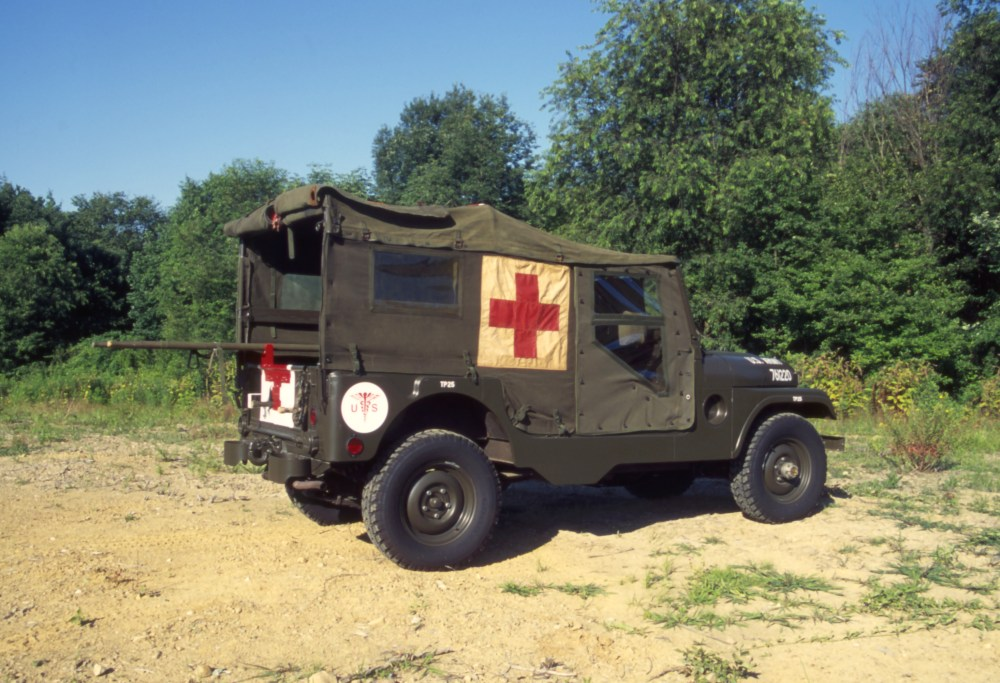 medium resolution of the m 170 frontline ambulance was the military forefather of the cj 6 and