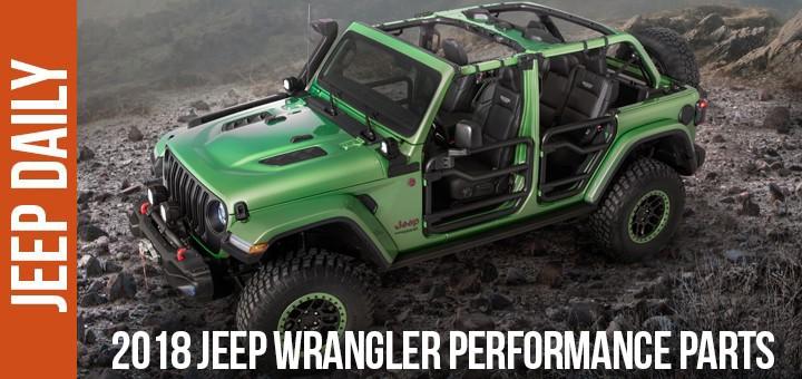 2018 Jeep Wrangler Performance Parts