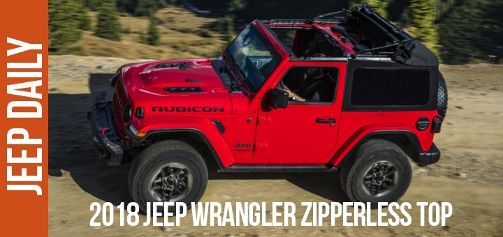 2018 Jeep Wrangler Jl Soft Top >> How to put the zipperless top down on a 2018 Jeep Wrangler JL - Jeep Daily | Jeep News and Videos