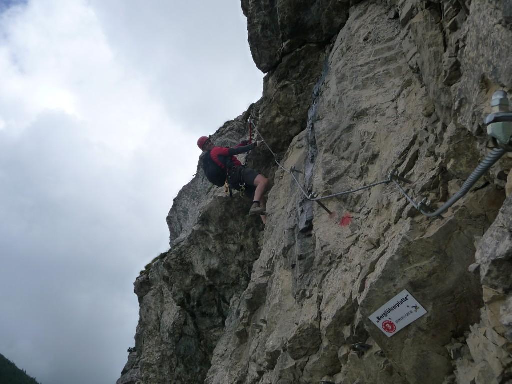 Klettersteig Norddeutschland : Käsch & kraxel ii: salewa klettersteig am iseler