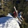 Gratüberschreitung in der Nagelfluhkette als Skitour