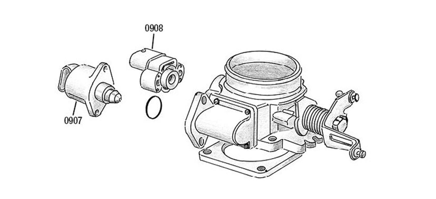 Wj Wg Carburateur Admission