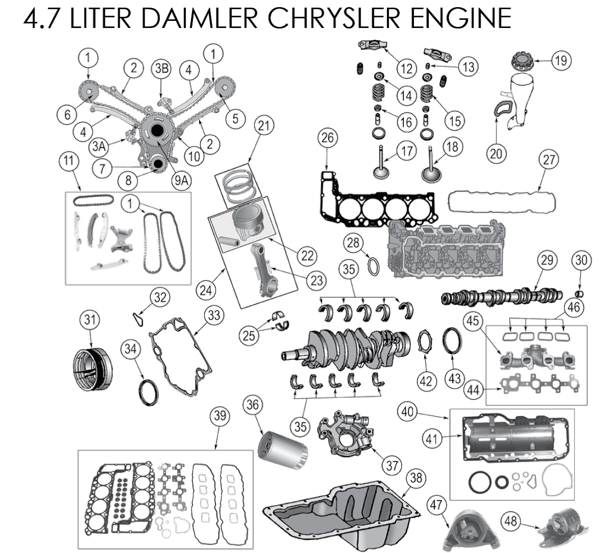 Related with 4 7l engine diagram valve