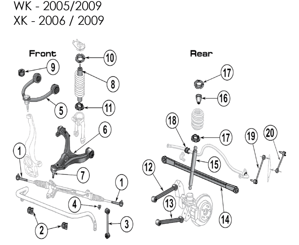 medium resolution of jeep grand cherokee front suspension diagram additionally 2009 jeep