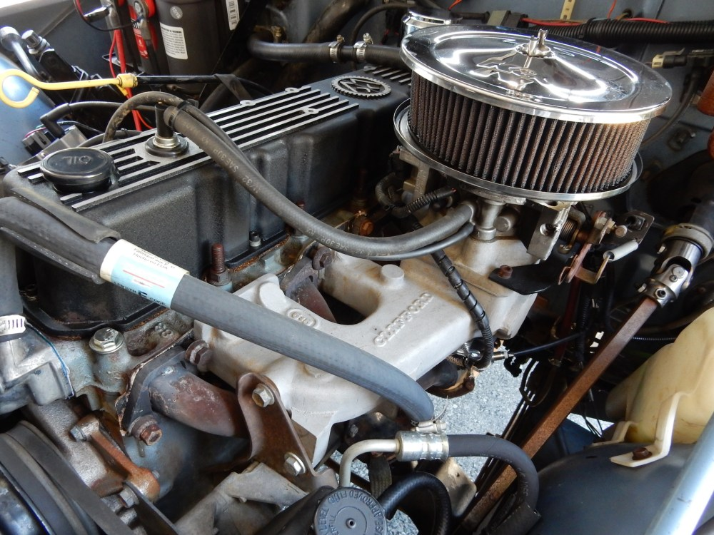 medium resolution of the rebuilt 258 runs a clifford manifold headers and howell fuel injection