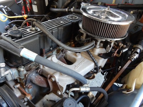 small resolution of the rebuilt 258 runs a clifford manifold headers and howell fuel injection