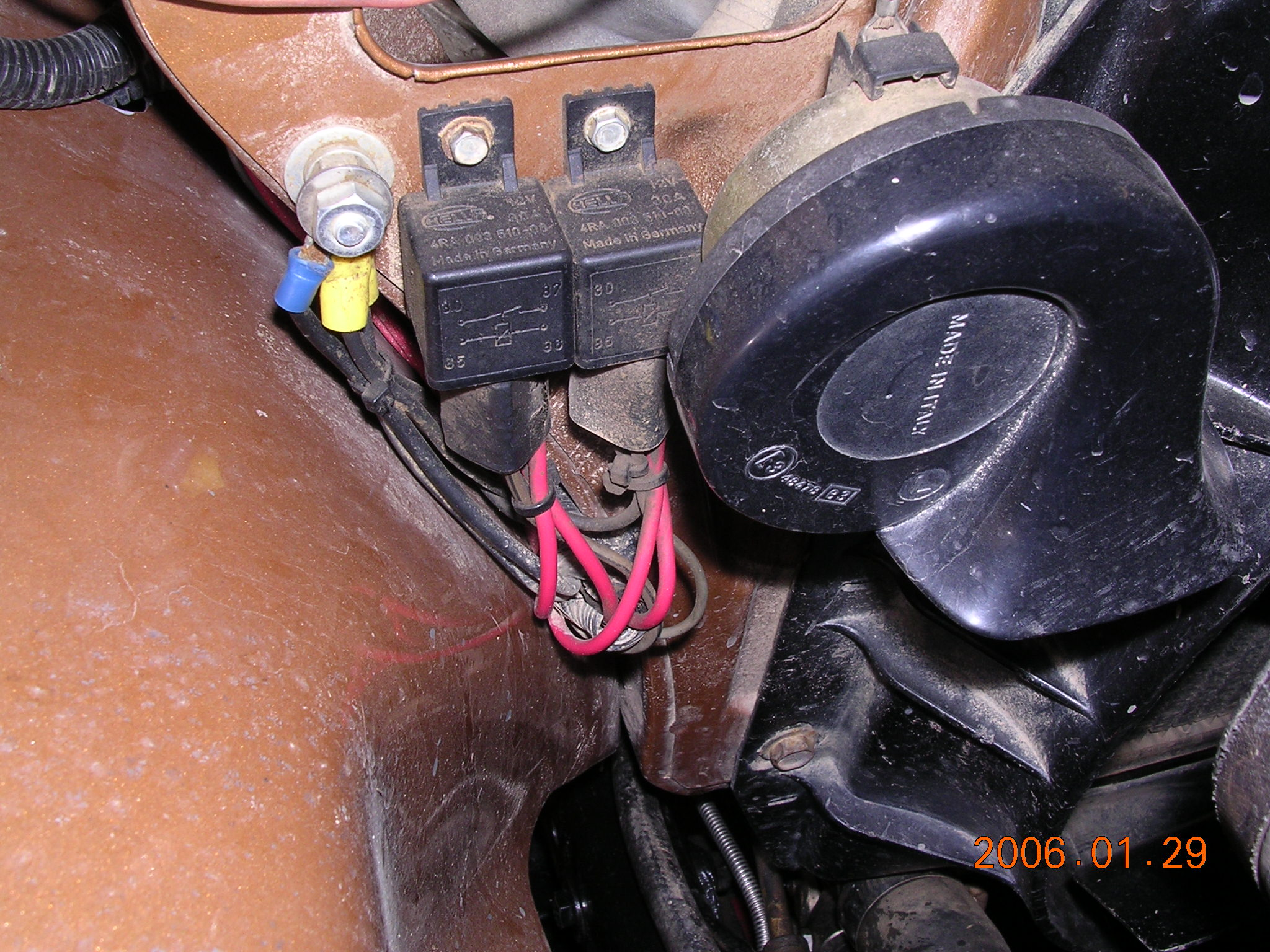 car headlight bulb wiring diagram 2005 ford taurus relay