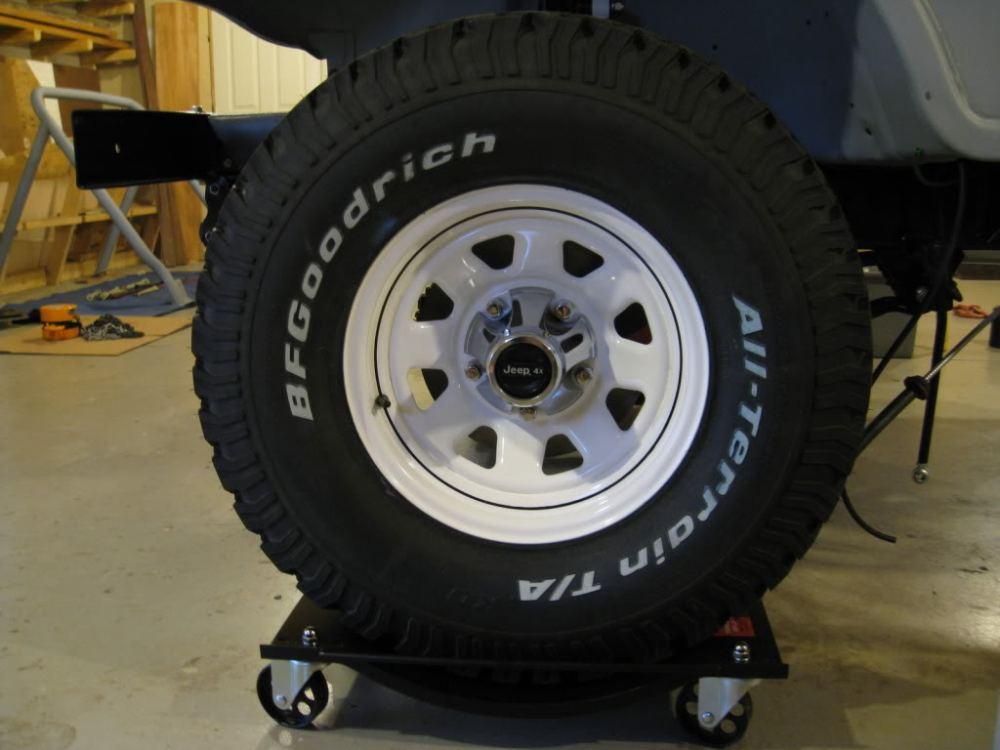medium resolution of factory white cj wheel