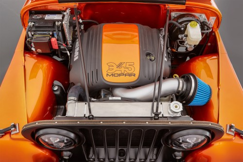 small resolution of mopar hemi swap in the jeep cj 66 concept