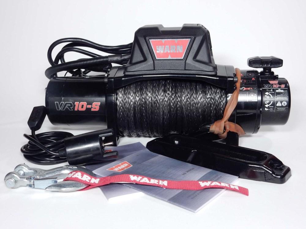 medium resolution of warn vr10 s winch installation on a cj