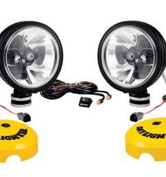 kc hilites 20 watt led lights model 653 [ 2400 x 1733 Pixel ]