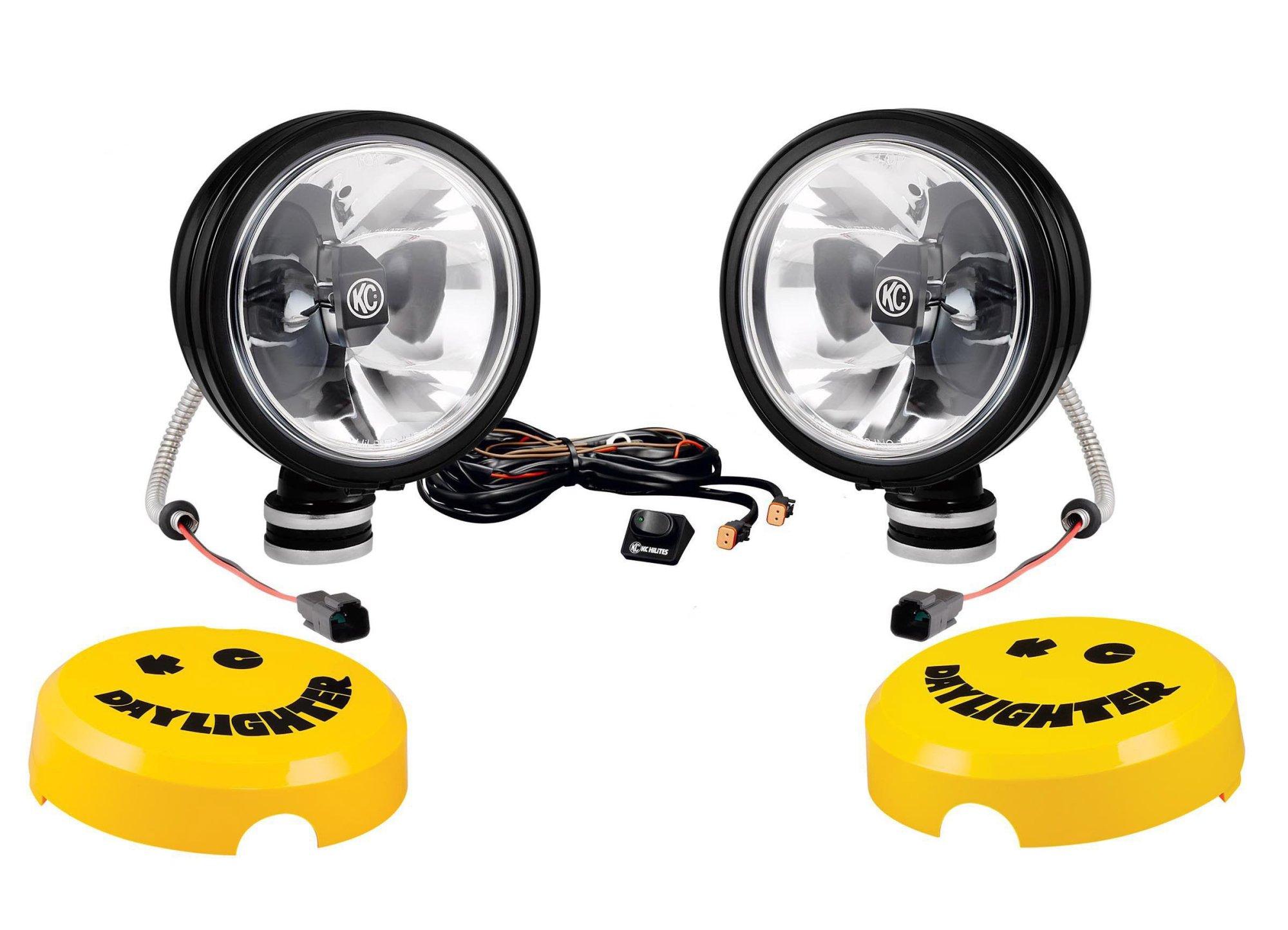 hight resolution of kc hilites 20 watt led lights model 653