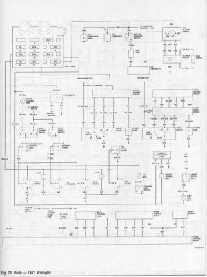 87 YJ gauge cluster wiring diagram  JeepForum