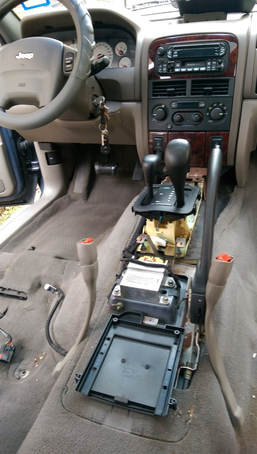 2006 Jeep Grand Cherokee Wiring Diagram Removing Seats Arm Rest Shifter Consoles Etc