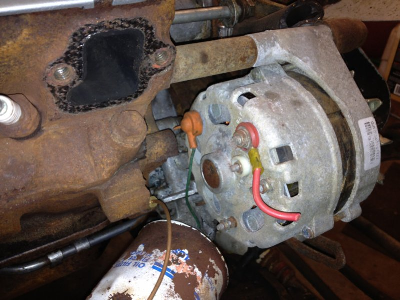 1975 Jeep Cj5 Ignition Wiring Diagram Proper Wiring Of Alternator Jeepforum Com