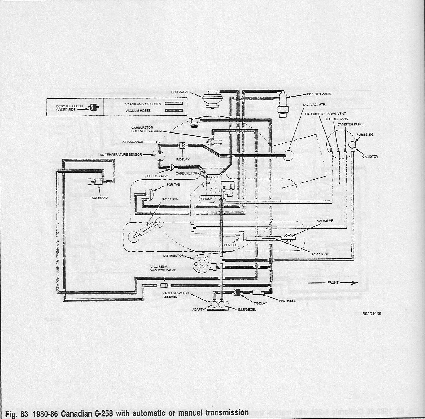 Late 80s Cto Valve Egr Purge Signal Confusion