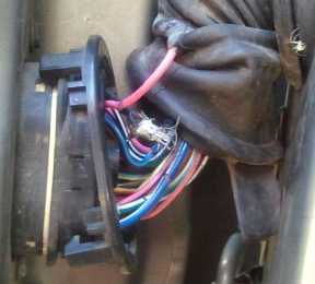 1995 driver door wiring connector  JeepForum