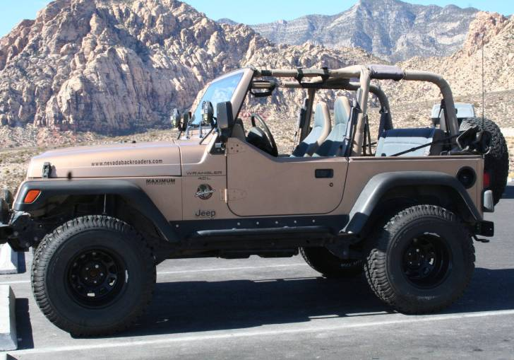 Ideal Lift 33 Inch Tires Jeep Tj