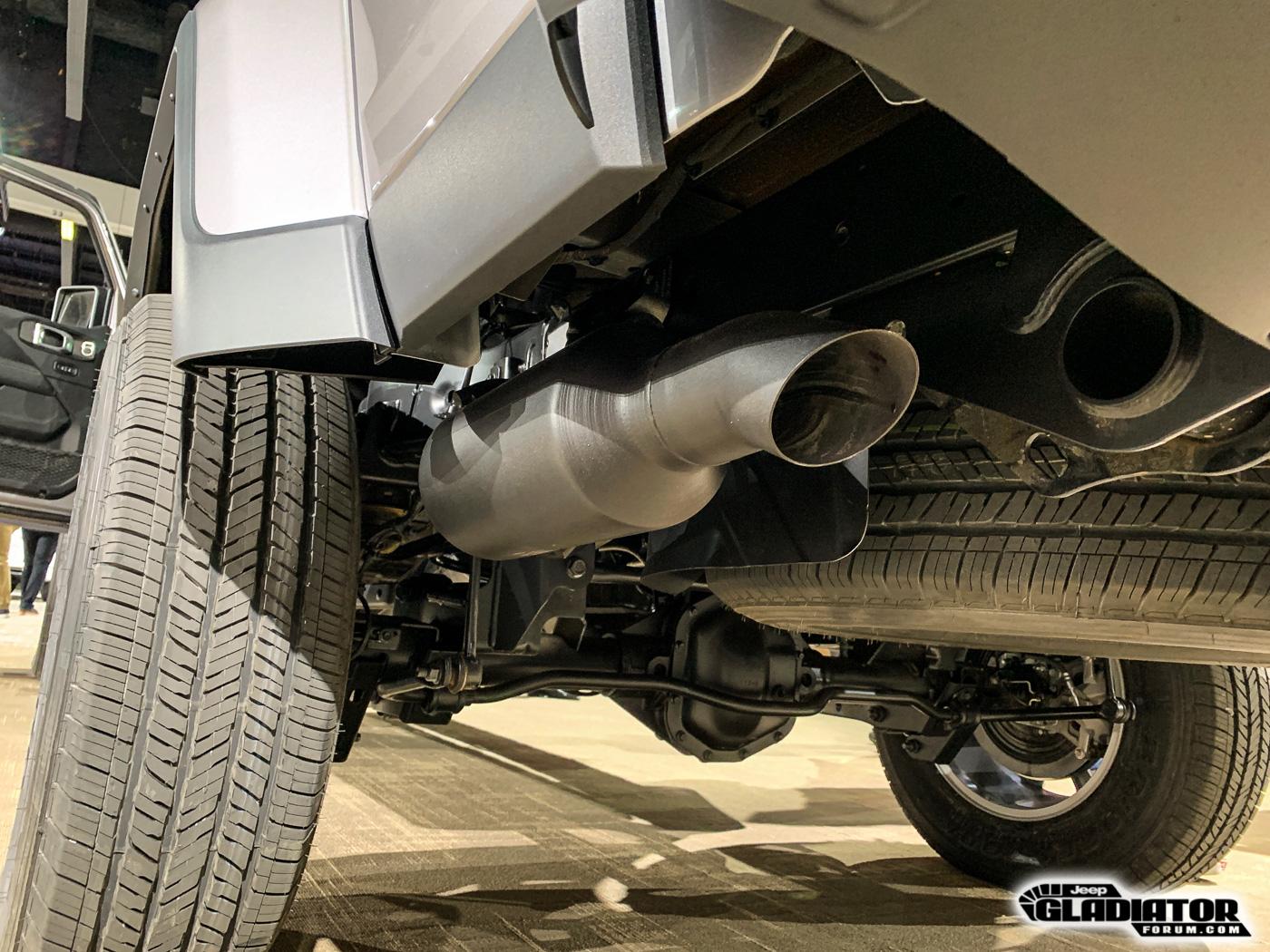 jeep gladiator exhaust