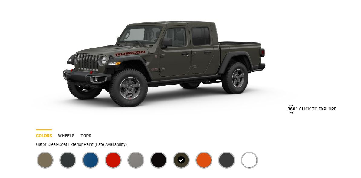 Updated 2020 Gladiator Colors Revealed Gobi Hydro Blue Gator Coming Soon  Page 5  Jeep