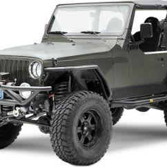 Jeep Jk Front Suspension Diagram Speaker Selector Switch Wiring Smittybilt Src Grille Guard Bumper - Yj/tj | 76721 Jeepinoutfitters