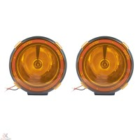 "JTI 4"" 55w HID Xenon Fog Light Lamp Work Light With Yellow ..."