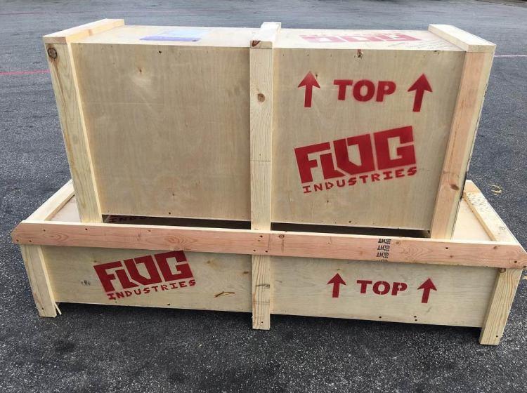 Flog Industries Bumper Packaging
