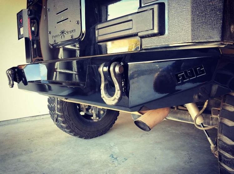 Flog Industries Rear Bumper Installed