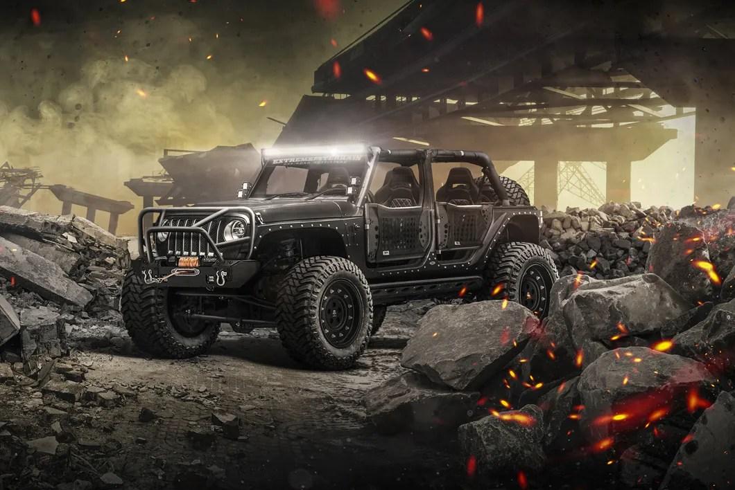 2018 Jl Wrangler Concept Jeeps Jeepmodreview Com