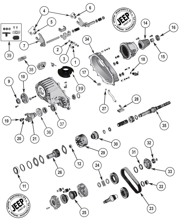 2001 Dodge Transfer Case Diagram Html