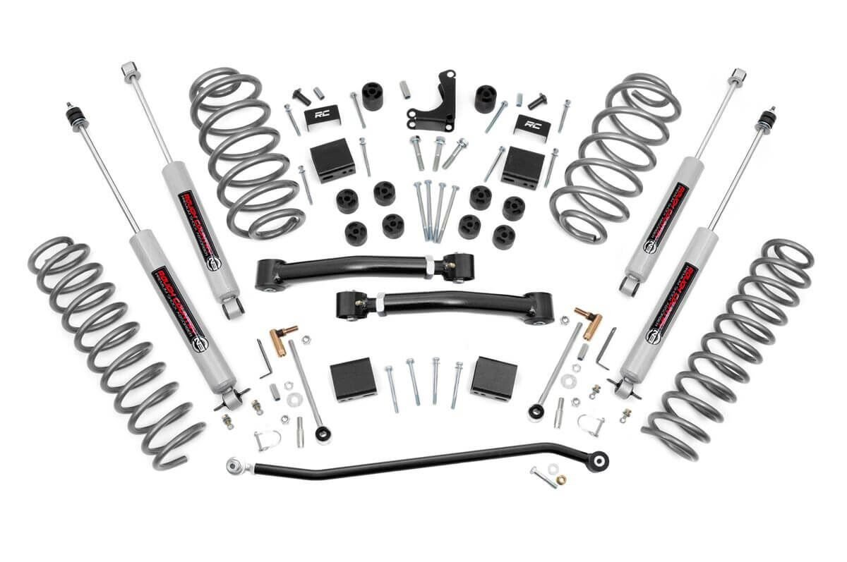 4″ Rough Country Lift Kit Pro Suspension